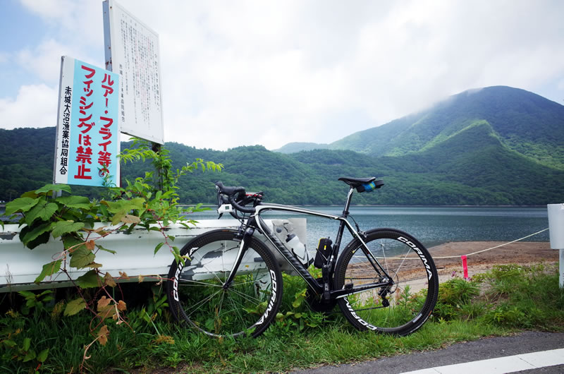 赤城山にはカルデラ湖があるんです