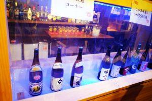 日本酒がズラリ