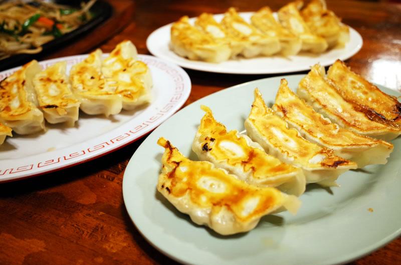 餃子、美味しいよ、餃子(*´ω`*)