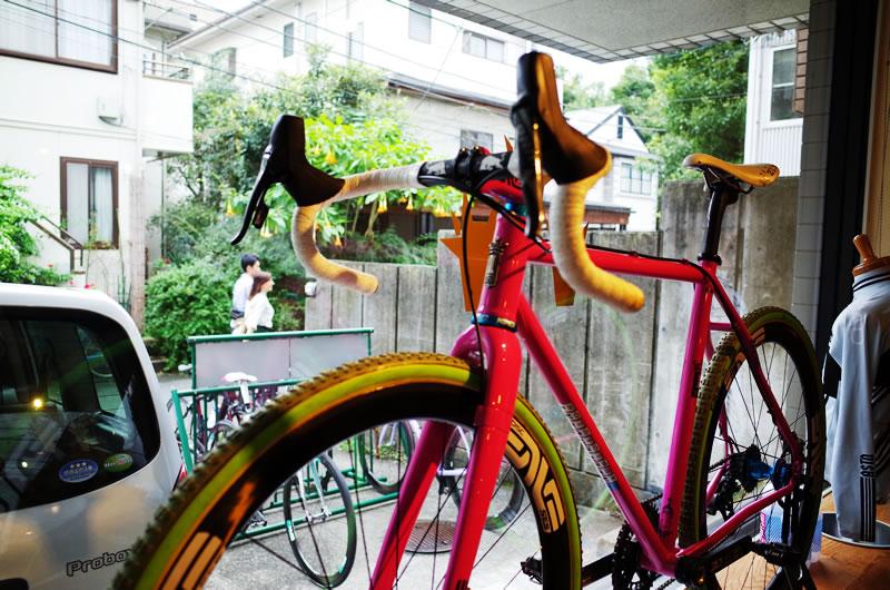 盆栽自転車の展示車両