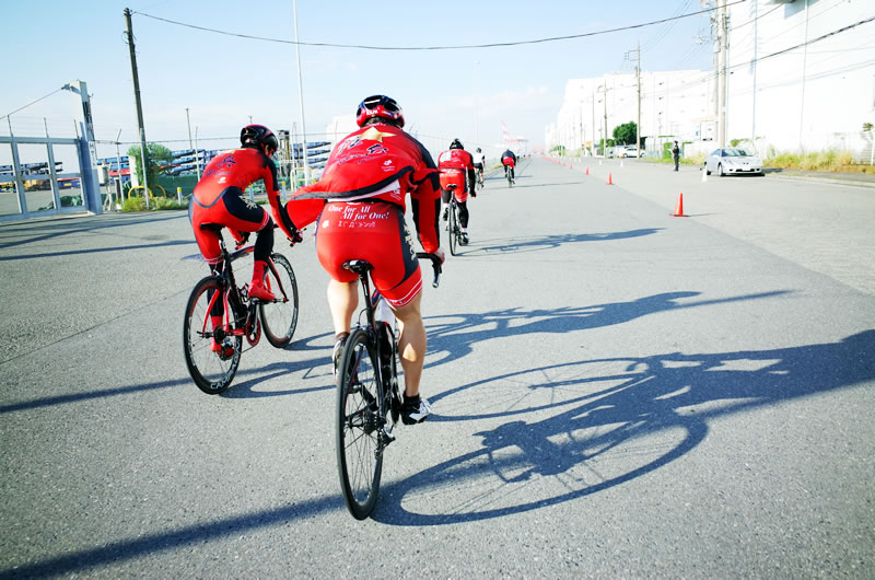 グループライドは自転車の楽しさを倍増させてくれる