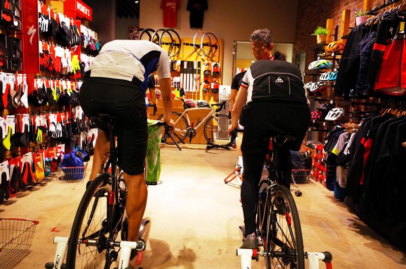 自転車の講習会が活きてきた!?