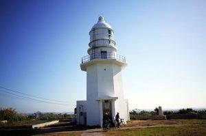 剱埼灯台は由緒ある灯台