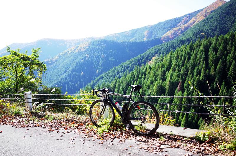ロードバイクで鋸山林道に上ってみよう!