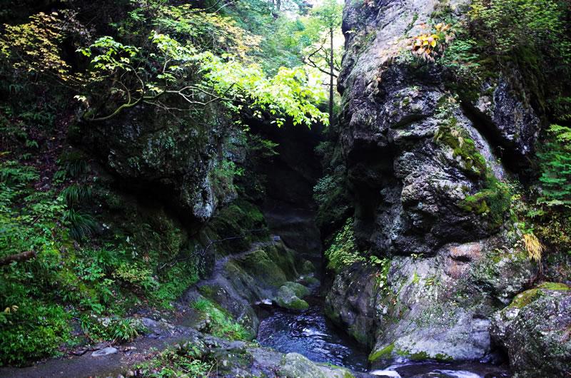 神戸岩の入り口!