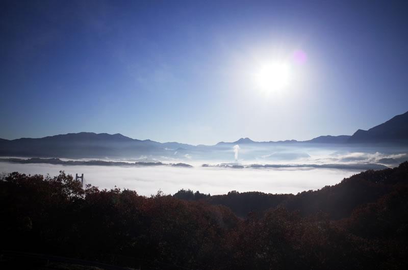 秩父ミューズパークから見た雲海