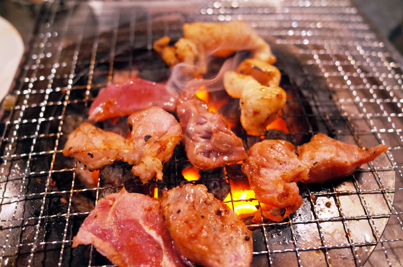 サイクリングのあとはお肉が美味い!