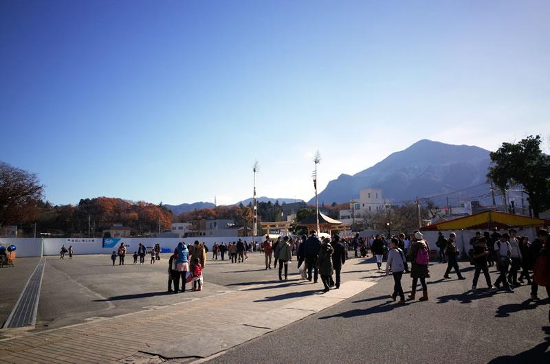 お旅所という広場。