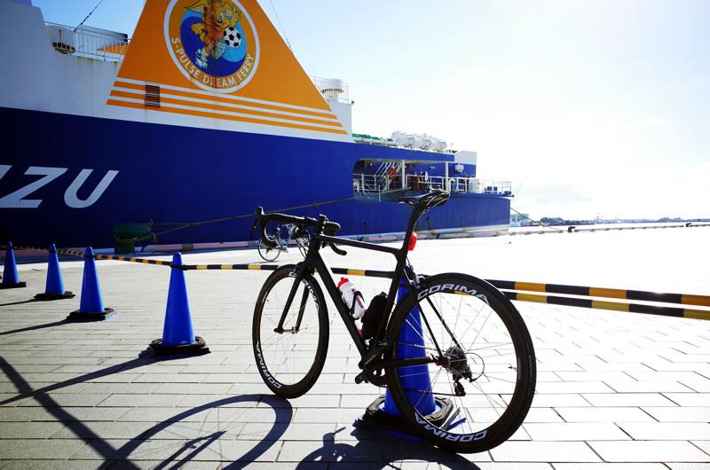 週末はサイクリング楽しむで~