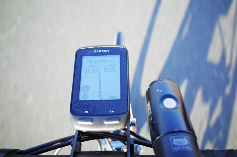 ガーミンのナビ機能はもはやサイクリングに必須!