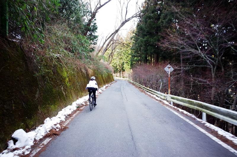 道がきれいで上りやすい定峰峠