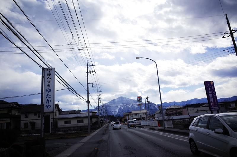 珍達そばへ行こ~♪ 武甲山を越えて~♪