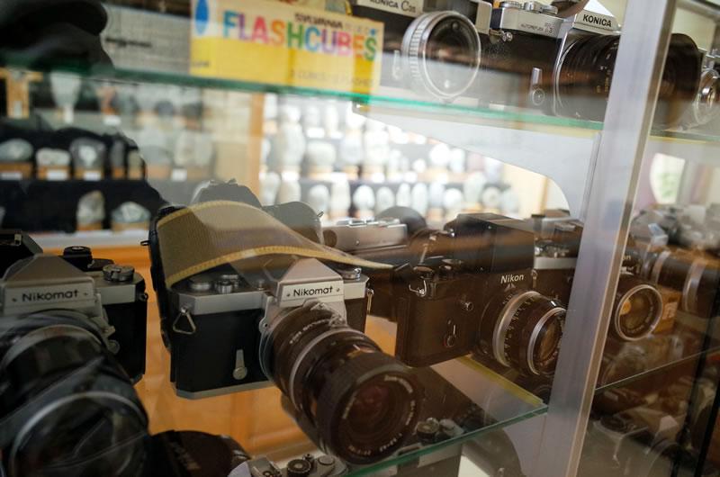 フィルムカメラがいっぱい!