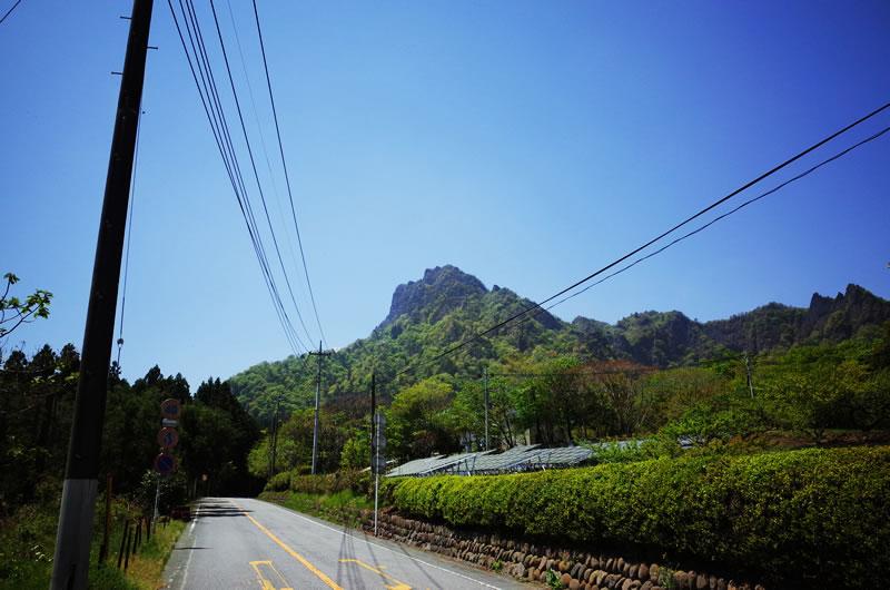 妙義山がどんどん近づいてきたよ(*´ω`*)