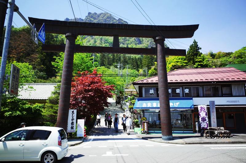 妙義神社!! を素通り・・・(-_-;)