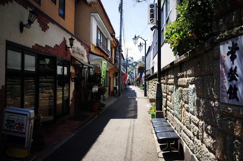 下仁田のフォトジェニックな街並み