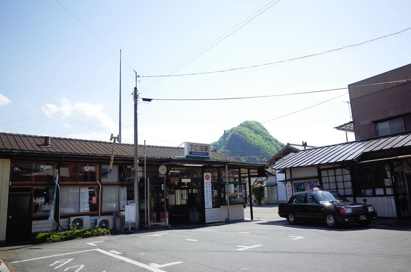 下仁田駅がこれまた素敵!
