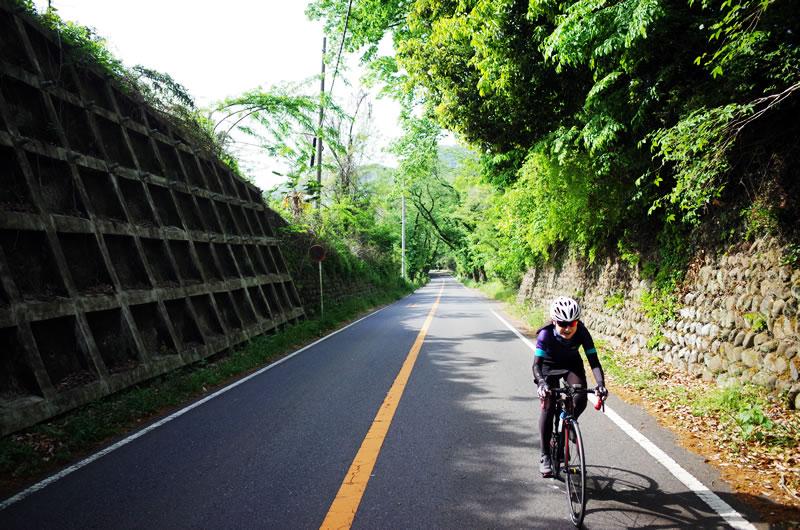 津久井湖の裏は自転車に最適