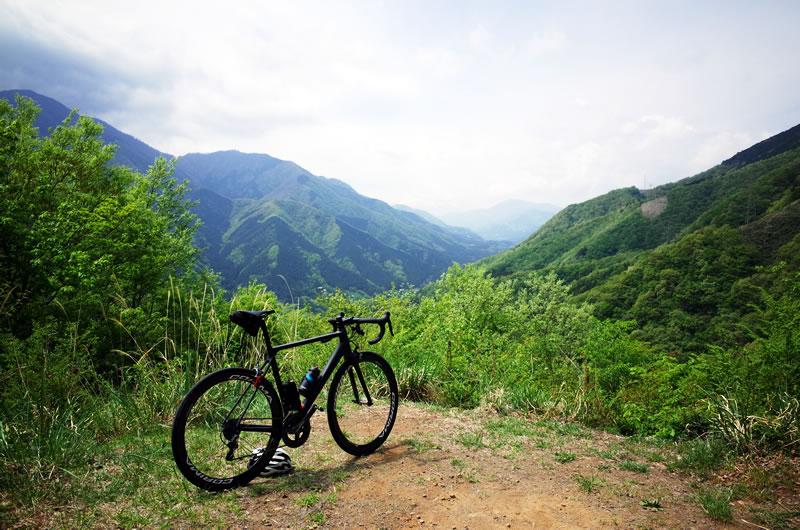 巌道峠は富士山の絶景スポットらしいのですが・・・