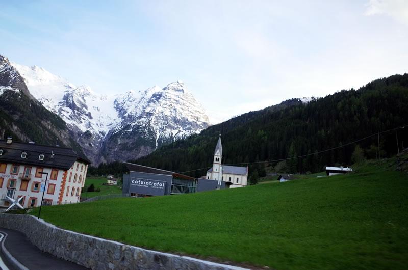スイスアルプスのような景色