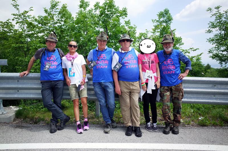 地元のボランティアの人たち