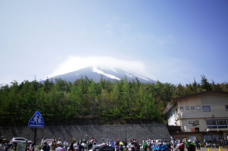 奇跡の晴天に恵まれた2017年の富士ヒル