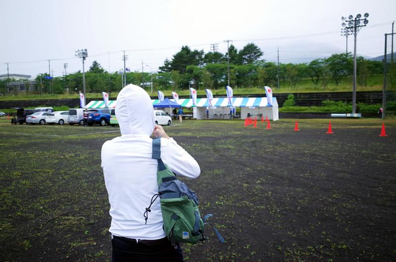 富士国際ヒルクライムはドエライ雨