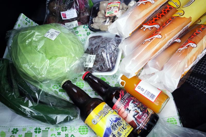 道の駅すばしりで地元野菜を大量ゲット!