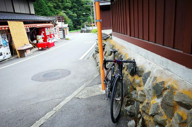 和田峠入り口にたどり着くも体調悪っ