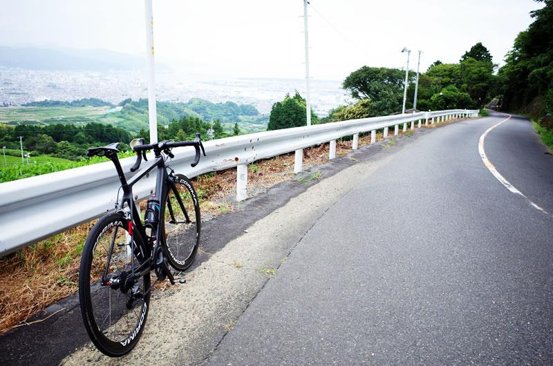 日本平・旧道は緩斜面も多い