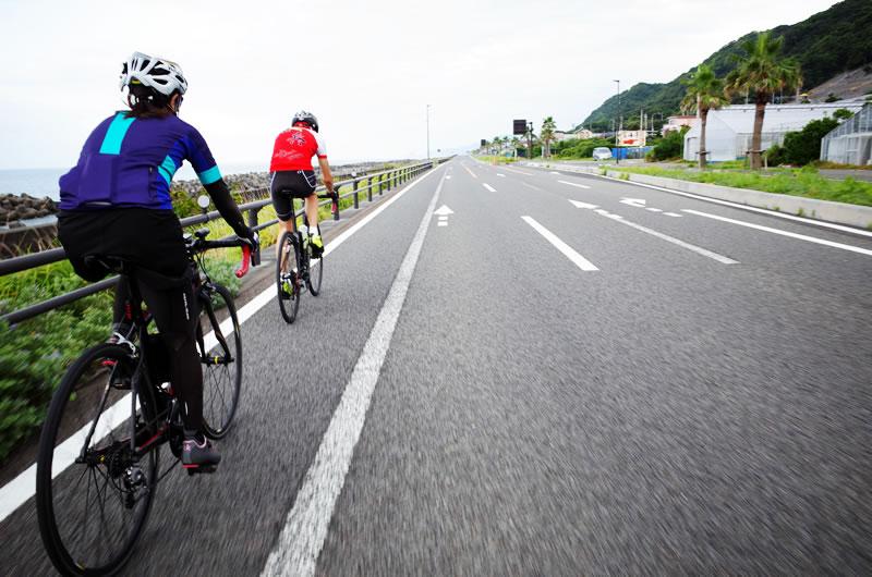 40km/hサイクリング(ゆるポタです)