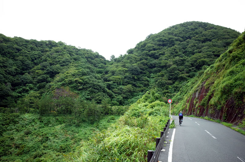 山、または山を越える西伊豆サイクリング