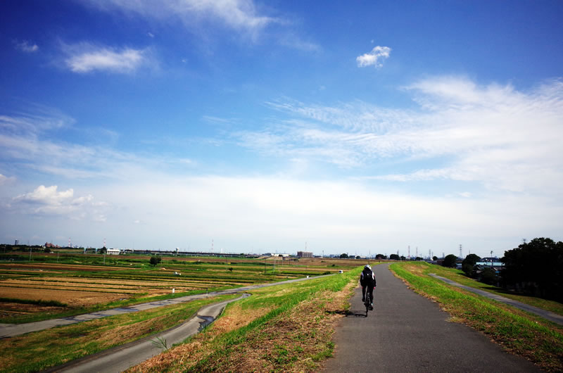 秋を感じるサイクリングは最高に気持ちいい