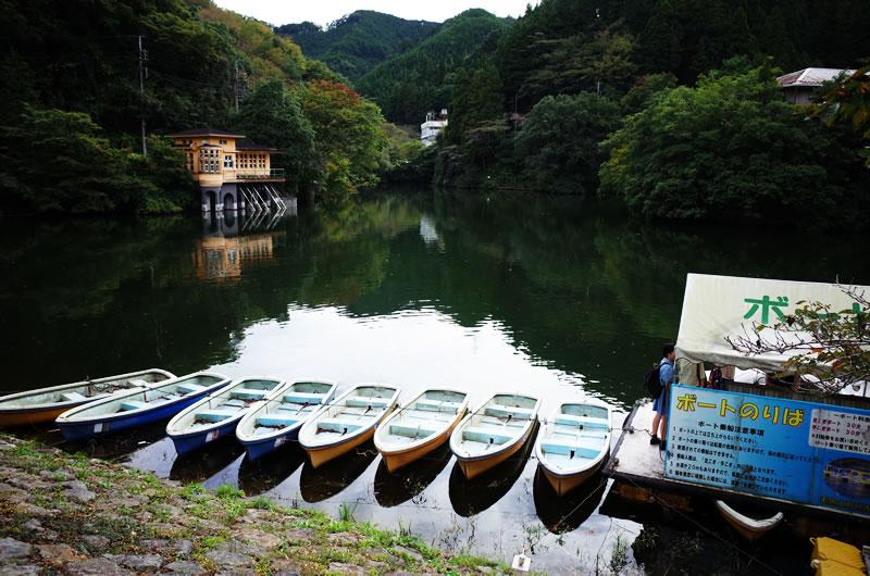 鎌北湖はちょっとレトロな雰囲気