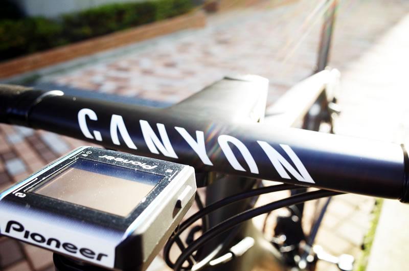 レックマウント「Type31 CANYON 用」でサイコン装着!