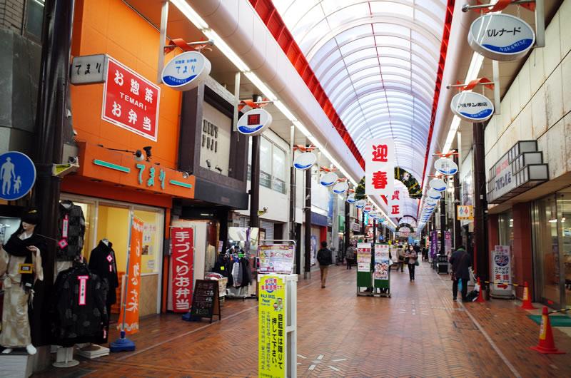 沼津駅周辺の商店街