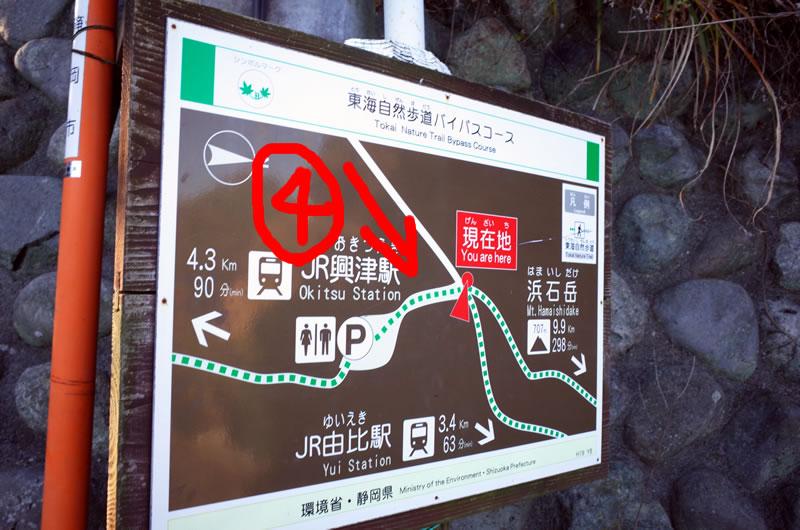 薩埵峠、第4のルート