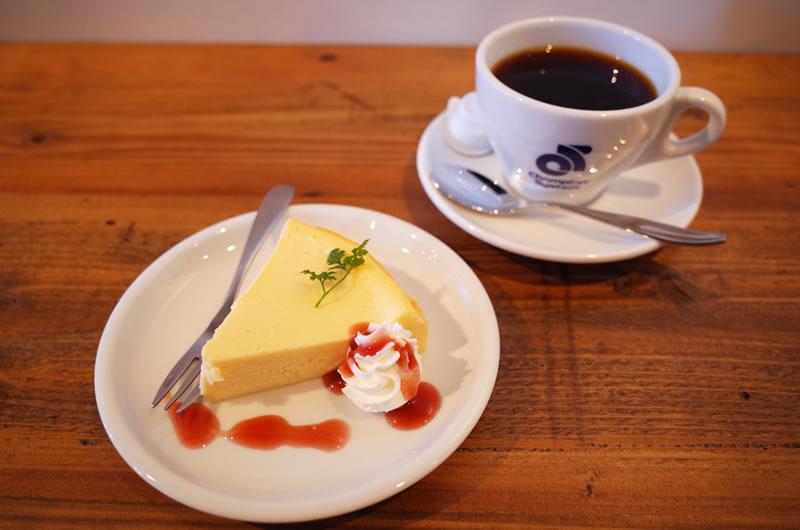 ニューヨークスタイルのチーズケーキ
