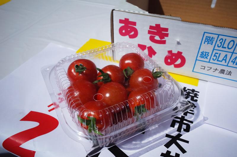 「Fish Man Race in 焼津大井川港」はトマトが一番おいしかった!