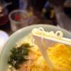 ほのかに酸っぱいスープに細麺が非常にマッチング!