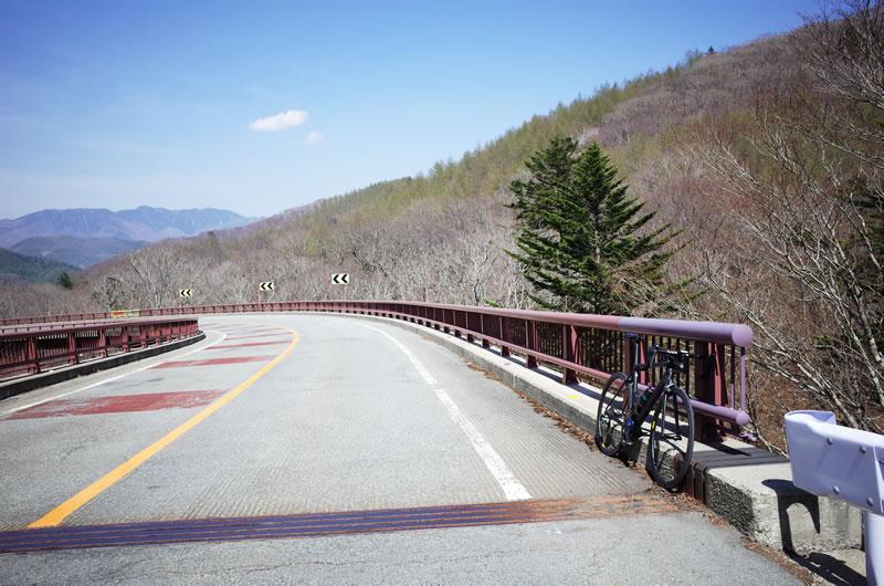 遂に足を着いて休んじゃったよ、柳沢峠の途中(´_ゝ`)