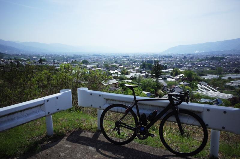 山梨のフルーツラインはサイクリングにオススメ!