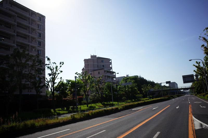 つくば市、日本じゃないみたいでビックリ