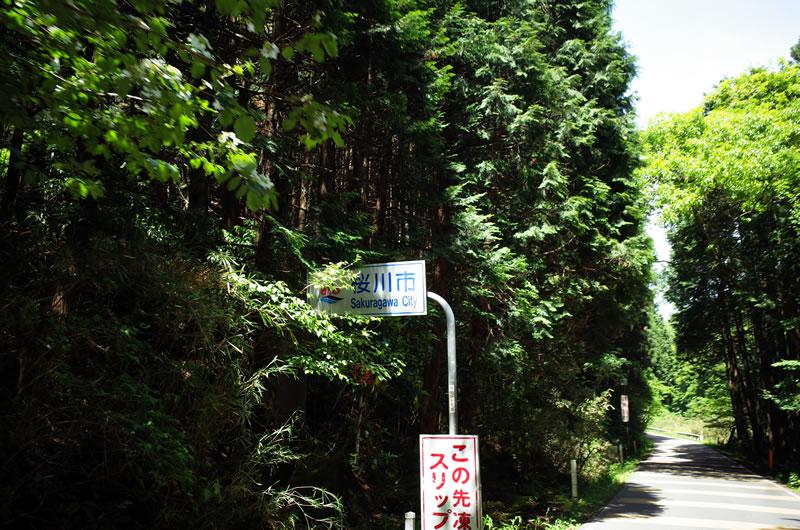 桜川市に入ってもなお下る(;´Д`)