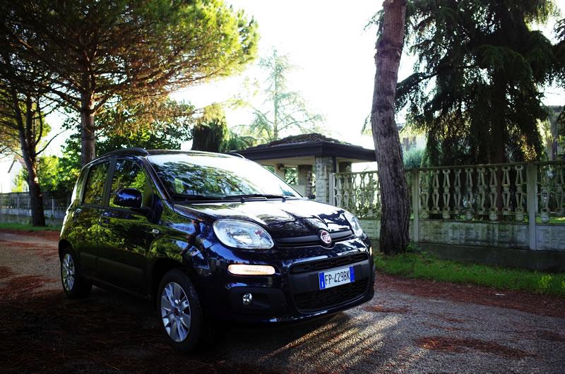 Europecarでフィアット・パンダをレンタルしました