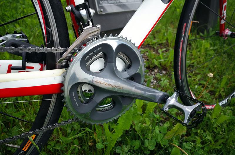 Cussigh Bikeはコンポがデュラエースでした(*´ω`*)