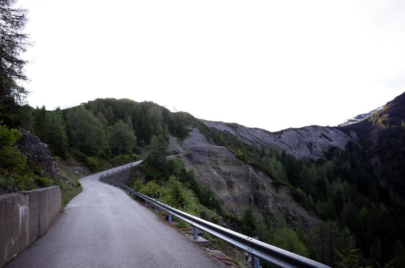 ゾンコランのラスト2kmはやや緩斜面