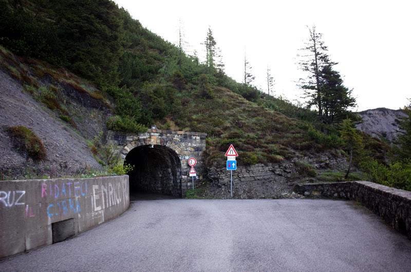 ゾンコランのトンネル