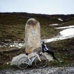 モンテ・クロスティスの山頂にたどり着いてグッタリ