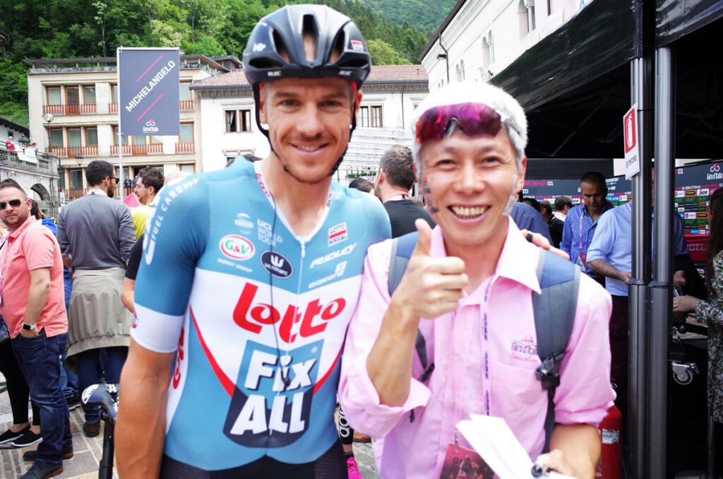ちょwww アダム・ハンセン、日本で走るの!?